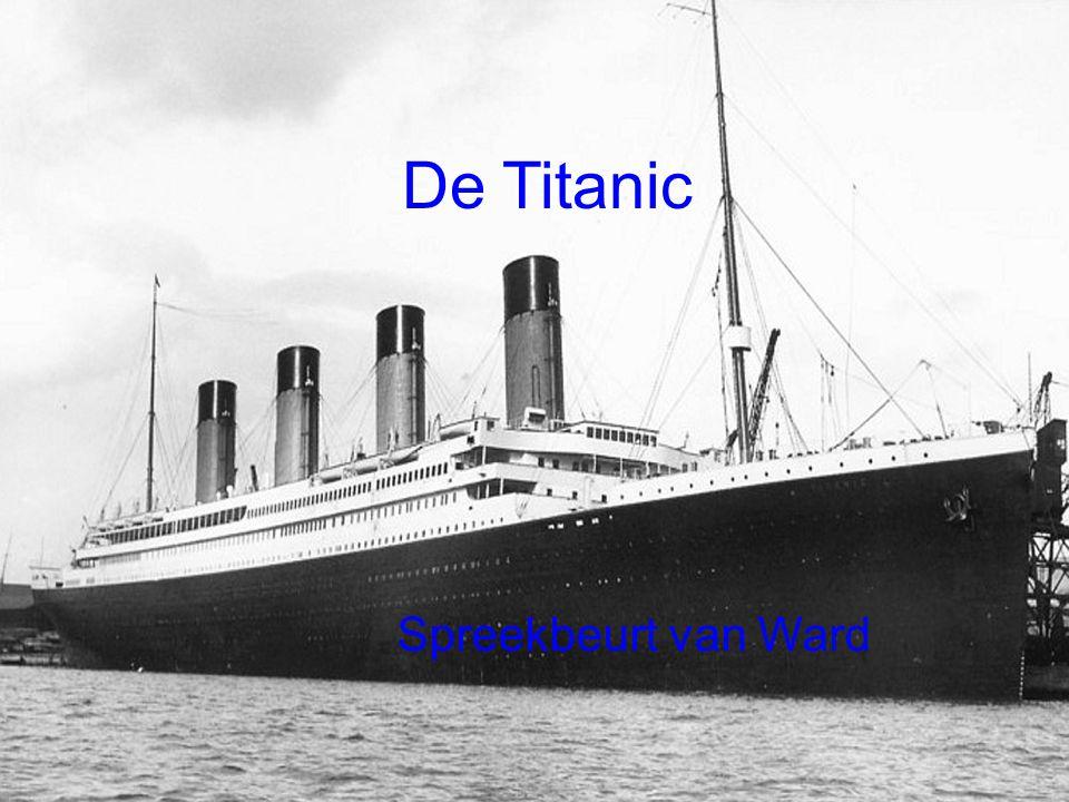 De Titanic Spreekbeurt van Ward : Ward