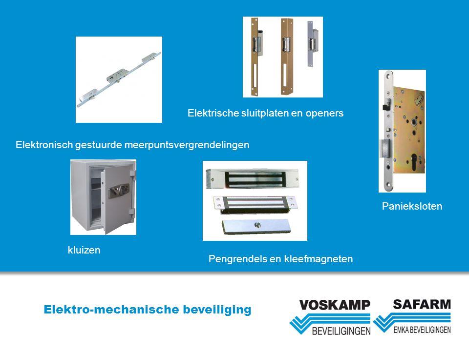 Elektro-mechanische beveiliging