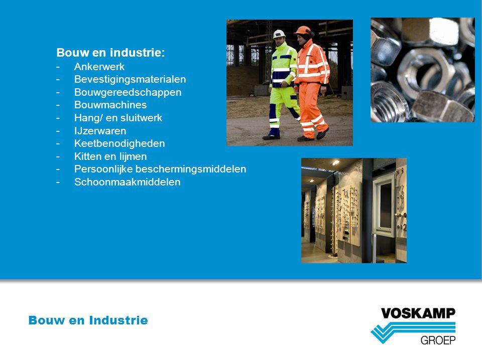 Bouw en industrie: Bouw en Industrie Ankerwerk Bevestigingsmaterialen