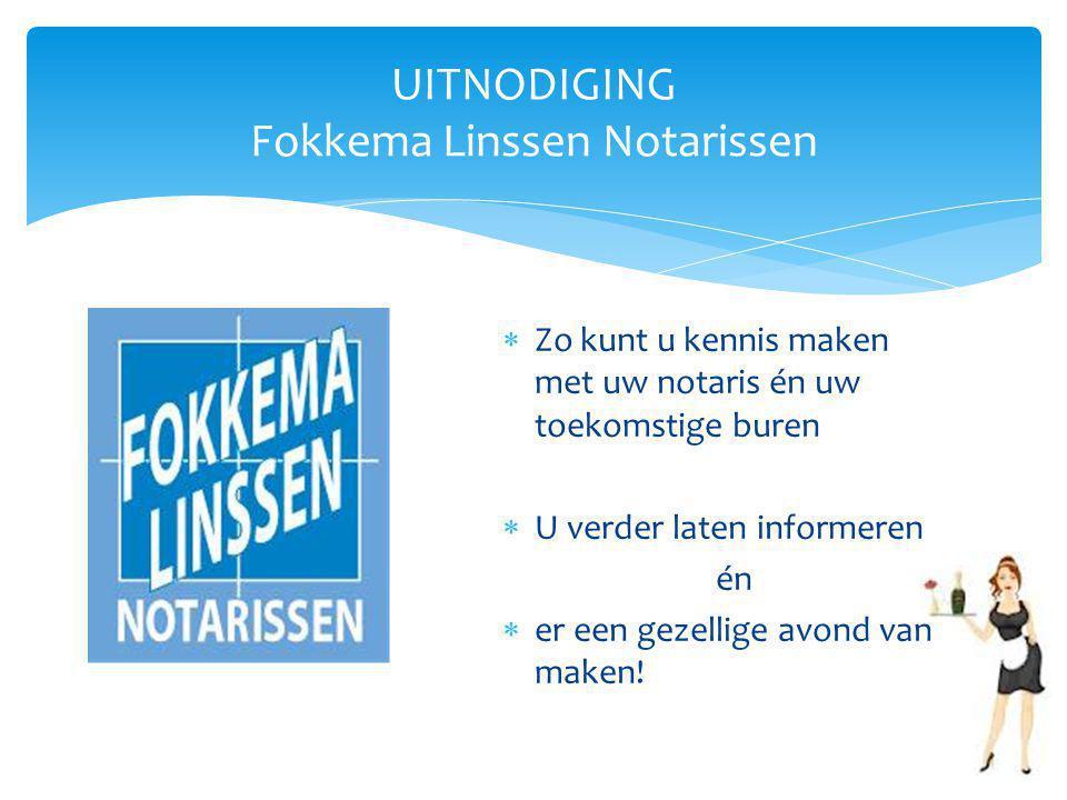 UITNODIGING Fokkema Linssen Notarissen