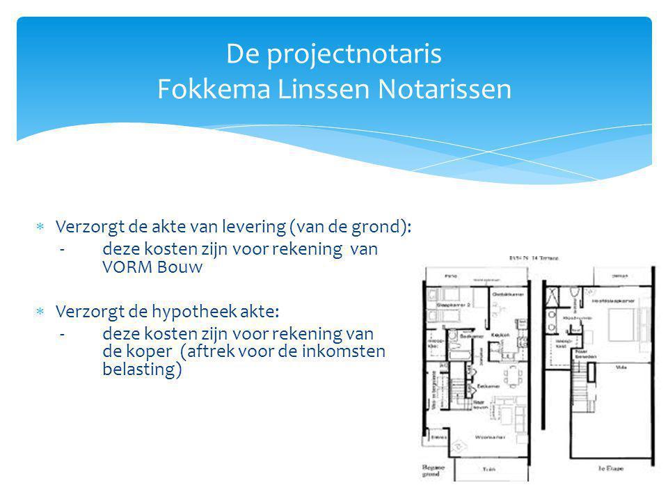 De projectnotaris Fokkema Linssen Notarissen