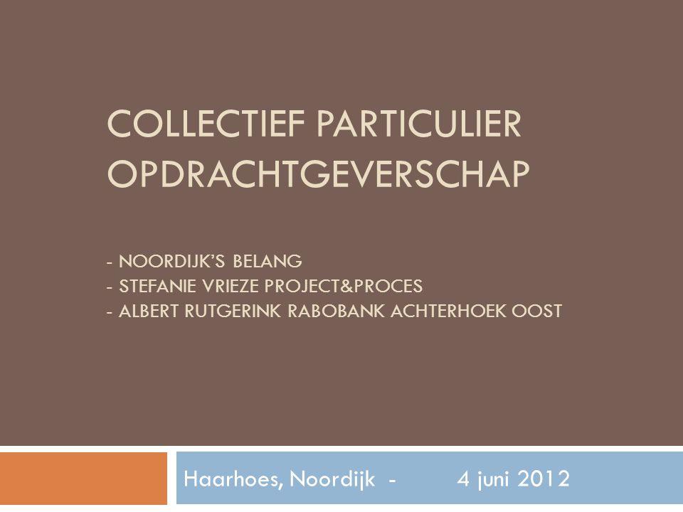 Haarhoes, Noordijk - 4 juni 2012