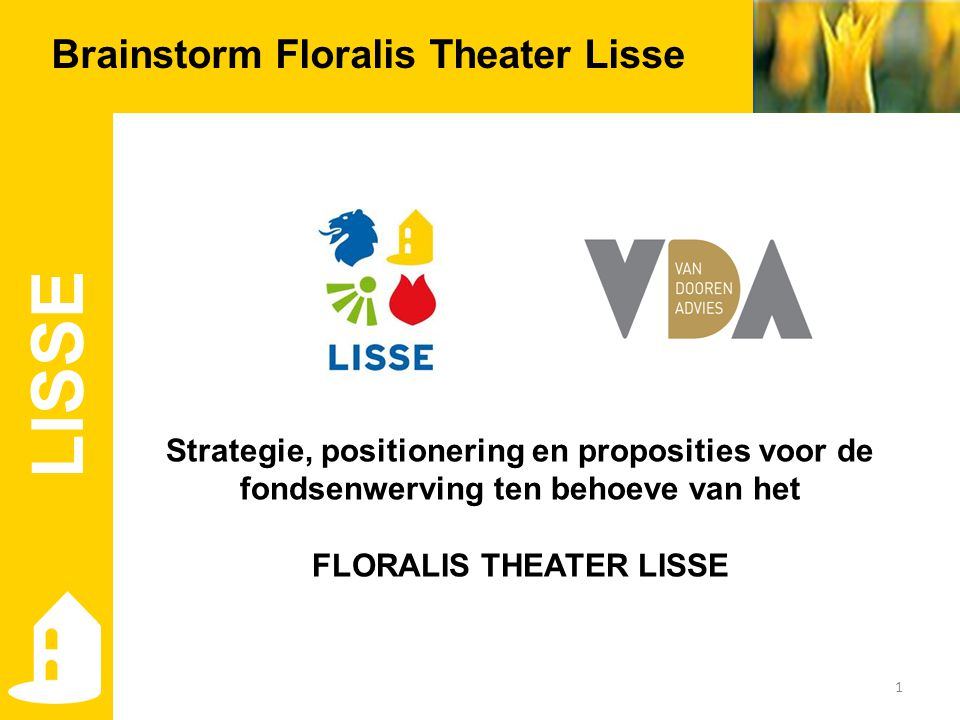 FLORALIS THEATER LISSE