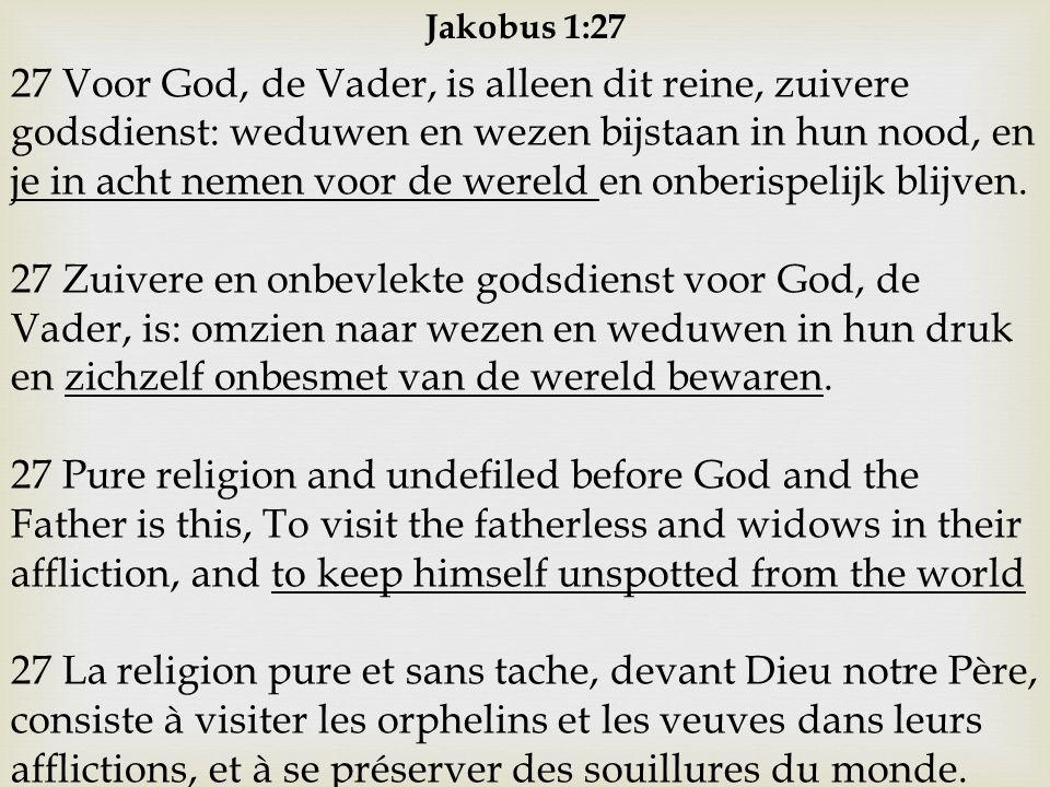 Jakobus 1:27