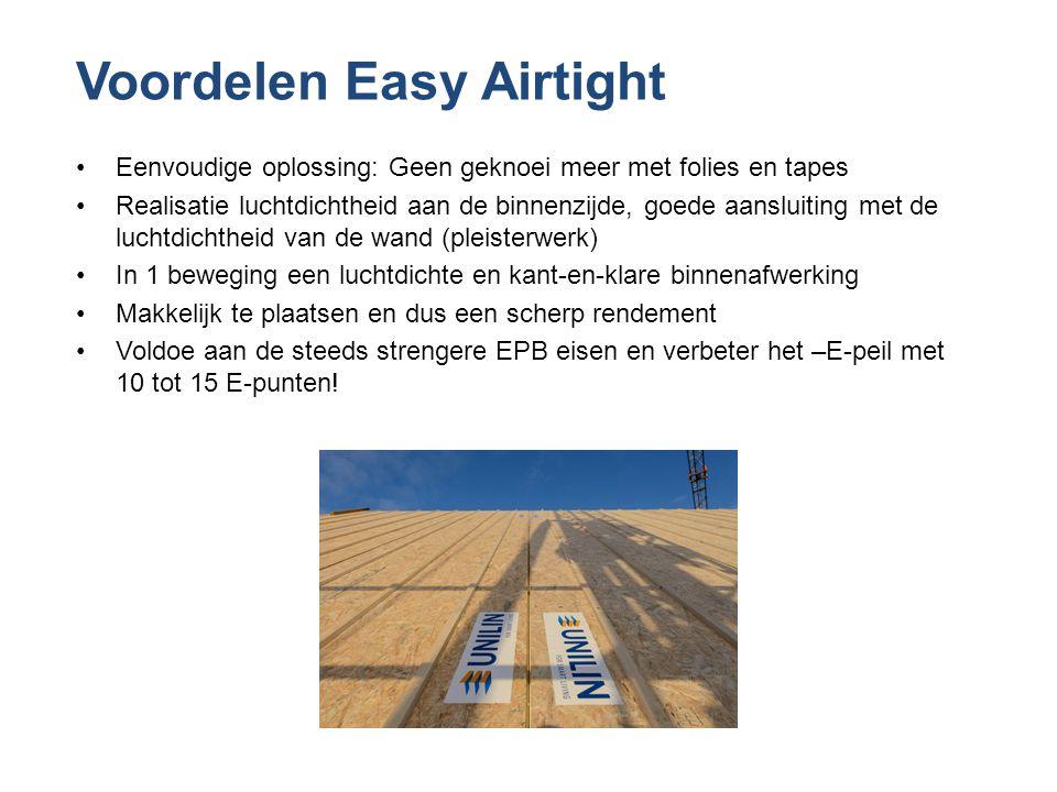 Voordelen Easy Airtight