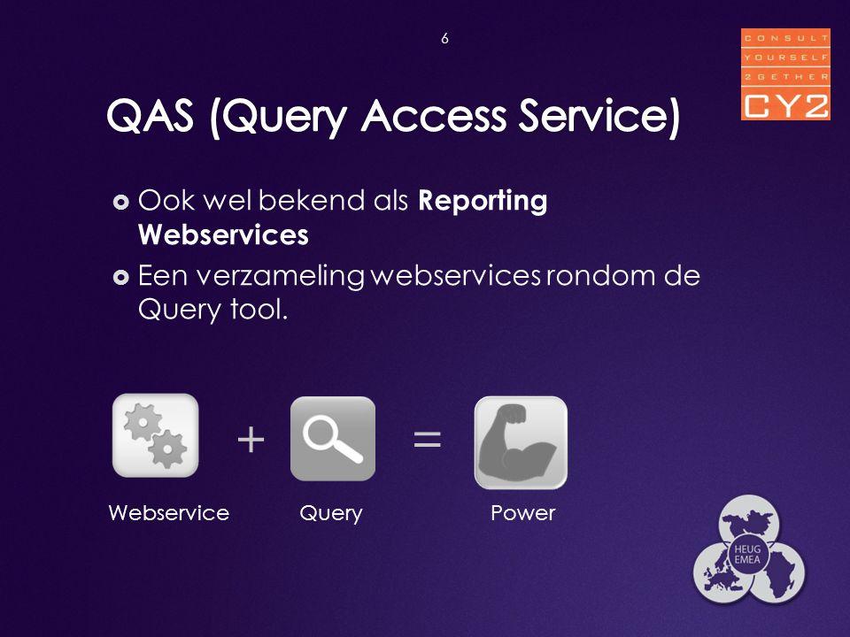 QAS (Query Access Service)