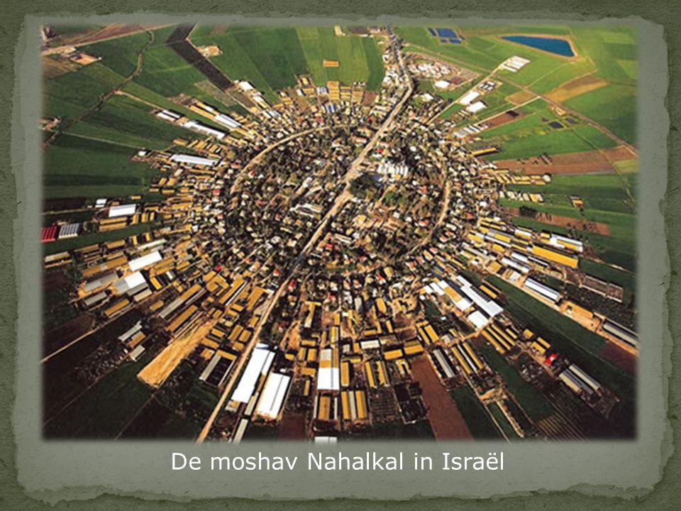 De moshav Nahalkal in Israël