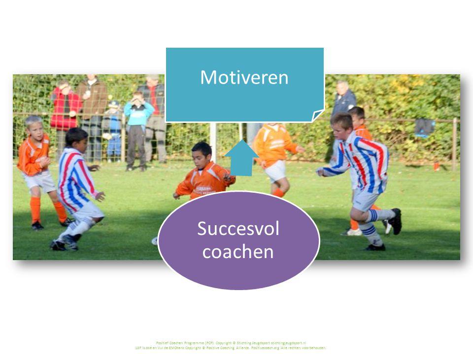 Succesvol coachen Motiveren > Waarom is motiveren zo belangrijk