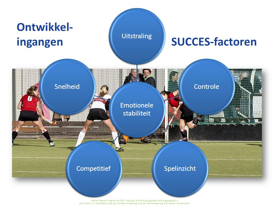 Ontwikkel- ingangen SUCCES-factoren