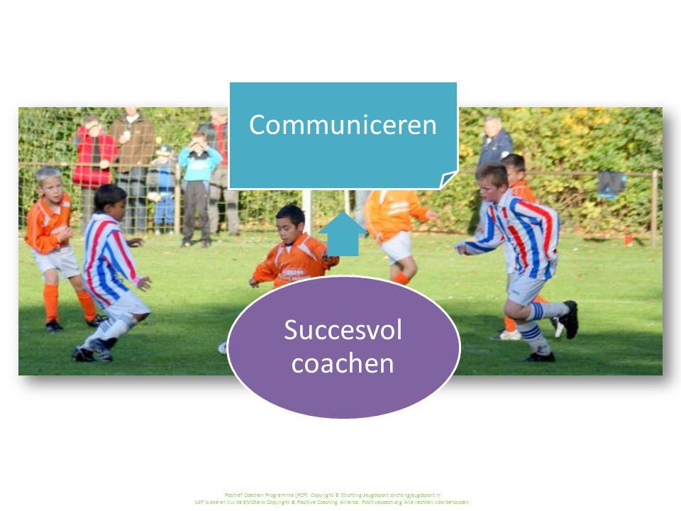 Succesvol coachen Communiceren