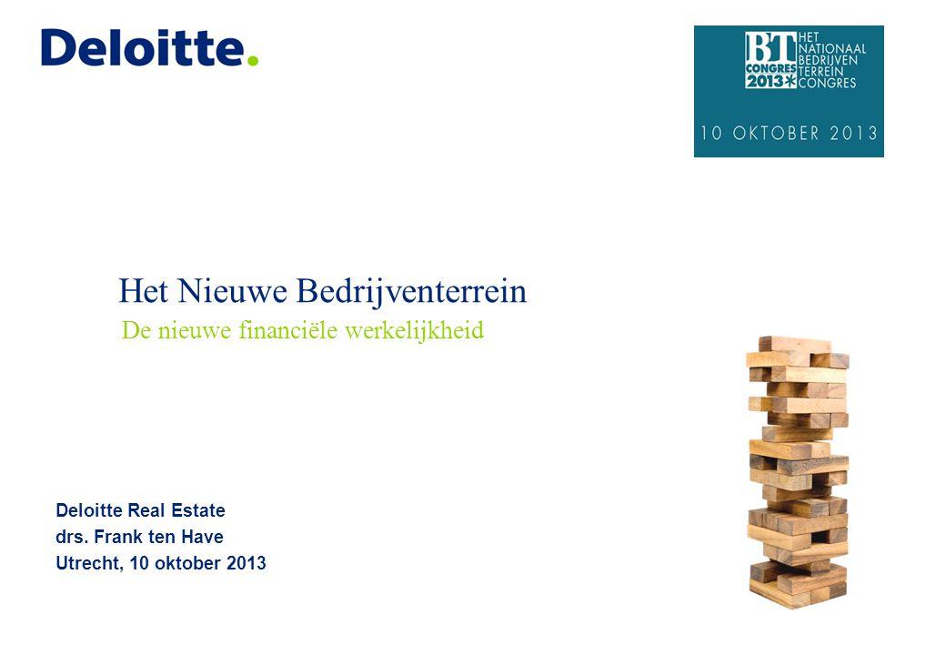 Agenda 1. Stand van zaken gemeenten en de vastgoedcrisis