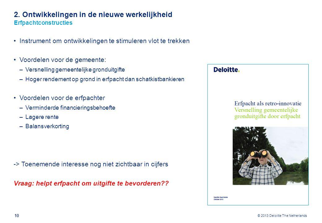 2. Ontwikkelingen in de nieuwe werkelijkheid Erfpachtconstructies – praktijkvoorbeeld gemeente Papendrecht en Stork