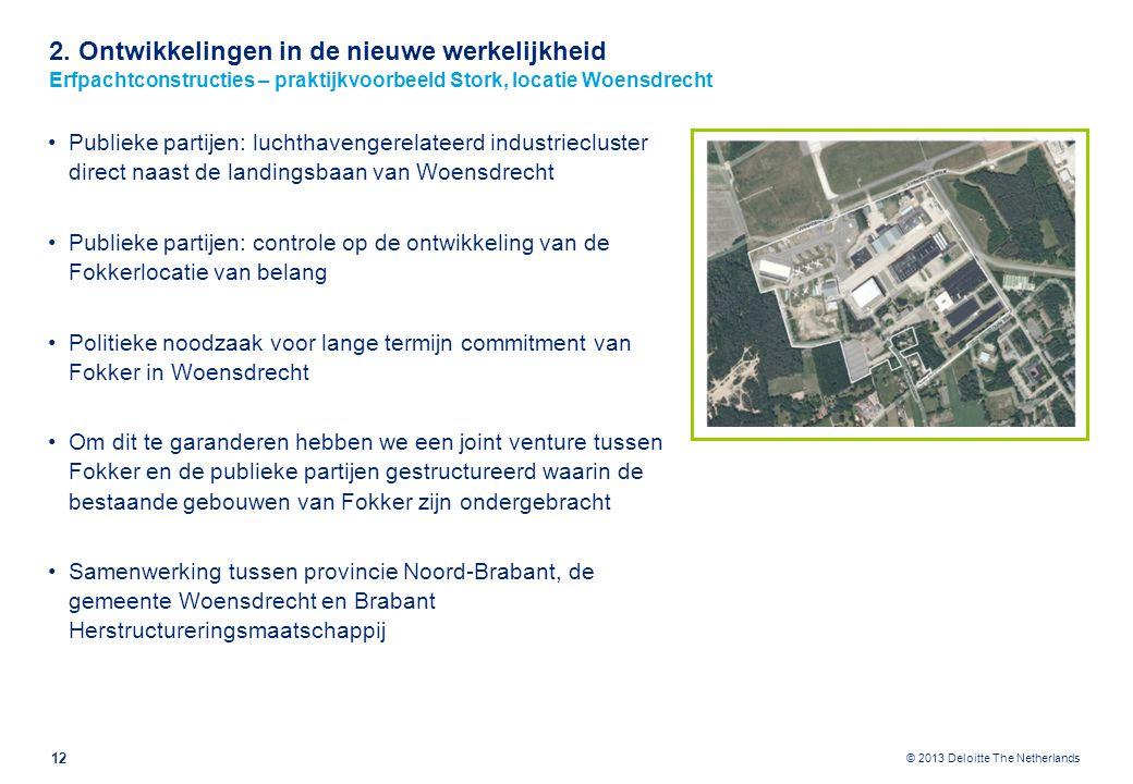 2. Ontwikkelingen in de nieuwe werkelijkheid Erfpachtconstructies – praktijkvoorbeeld Stork, locatie Hengelo