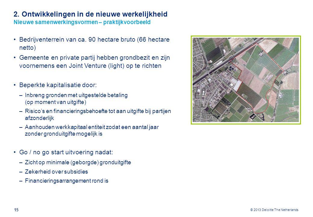 2. Ontwikkelingen in de nieuwe werkelijkheid Decentralisaties bij gemeenten: grond en vastgoed ondergeschikt aan sociale domein