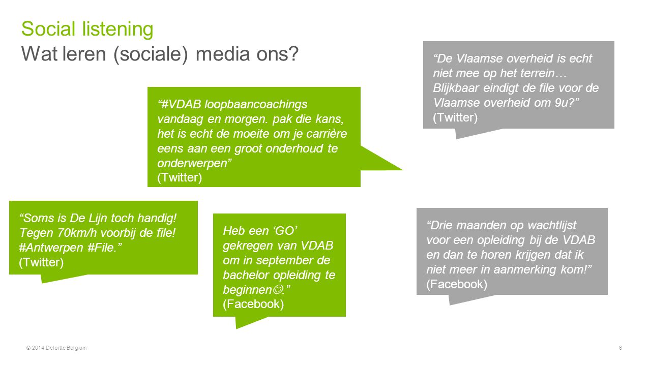 Wat leren (sociale) media ons
