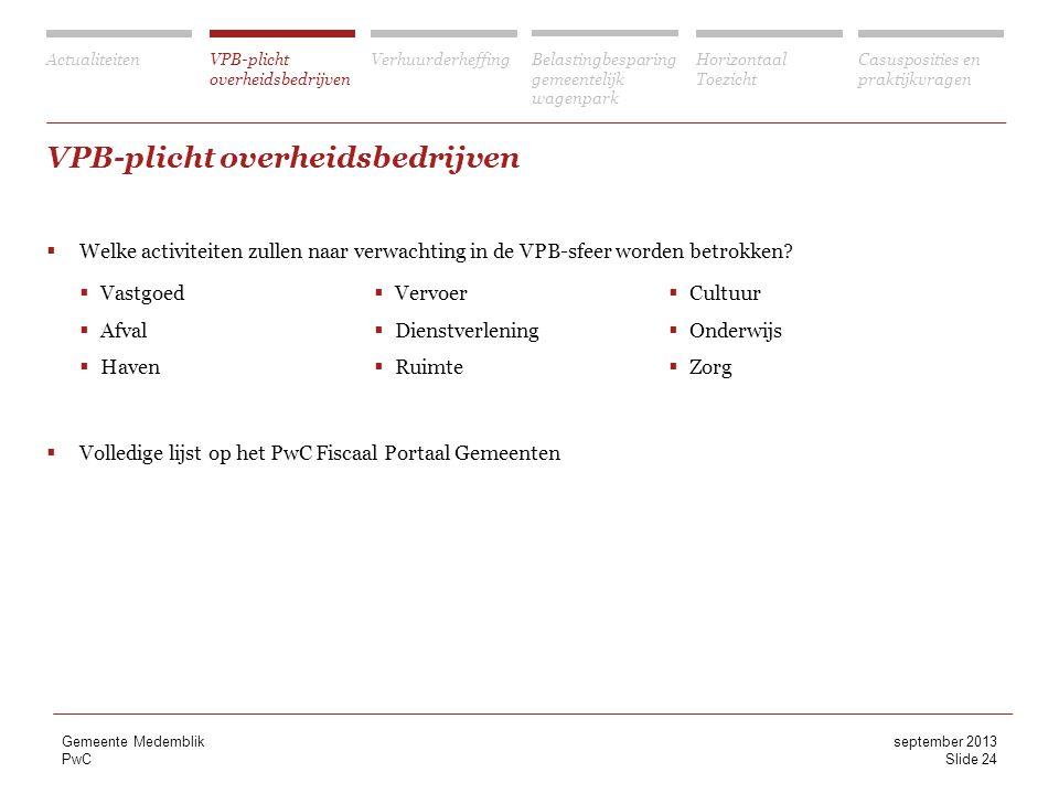 VPB-plicht overheidsbedrijven