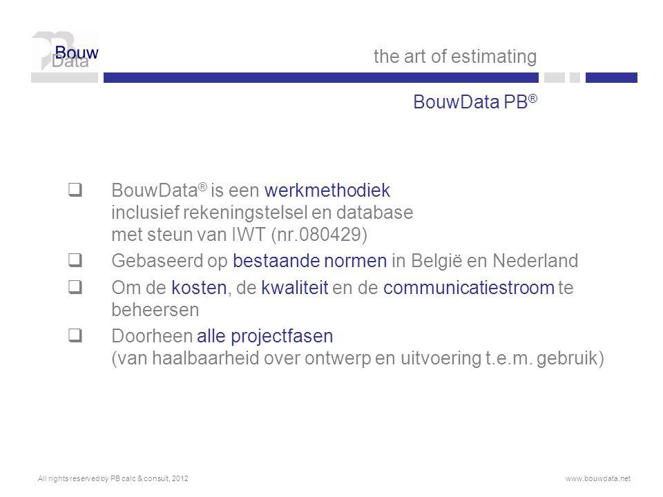 Gebaseerd op bestaande normen in België en Nederland