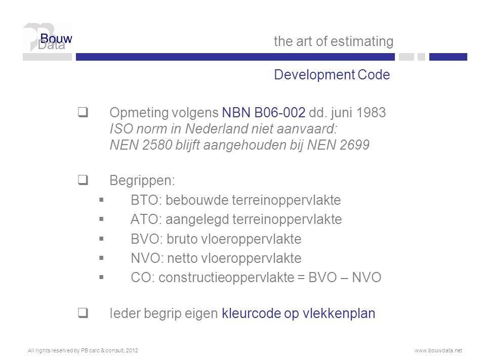 BTO: bebouwde terreinoppervlakte ATO: aangelegd terreinoppervlakte
