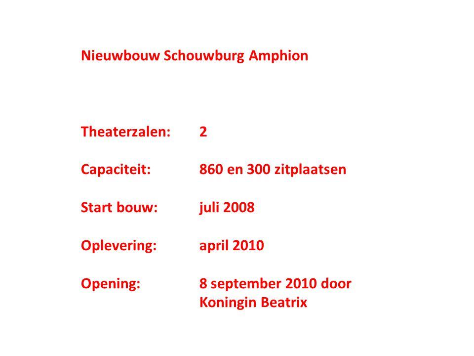 Nieuwbouw Schouwburg Amphion