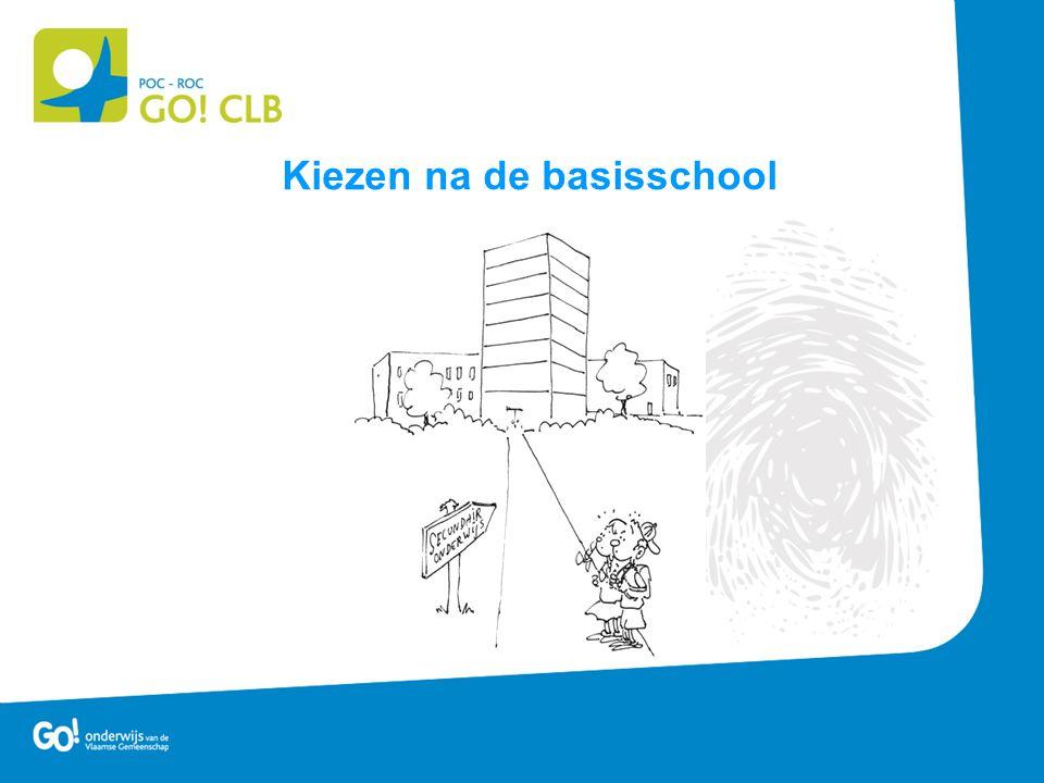 Kiezen na de basisschool
