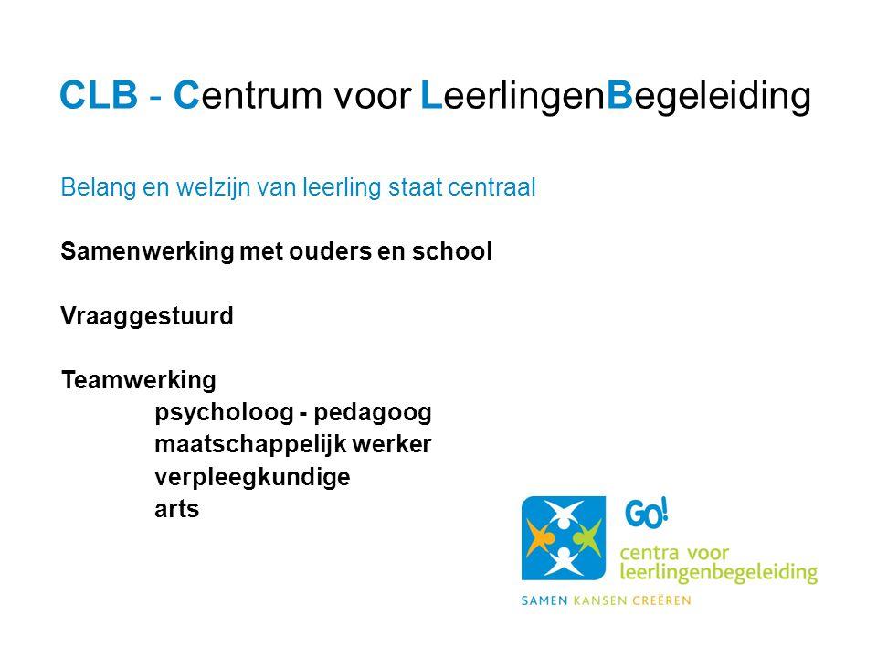 CLB - Centrum voor LeerlingenBegeleiding