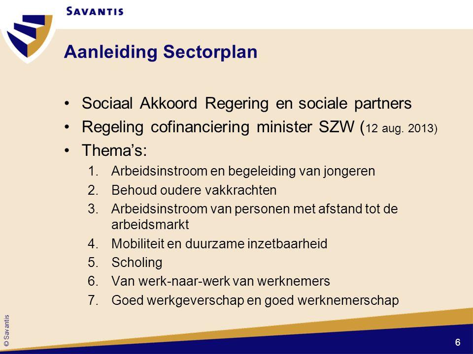 Aanleiding Sectorplan