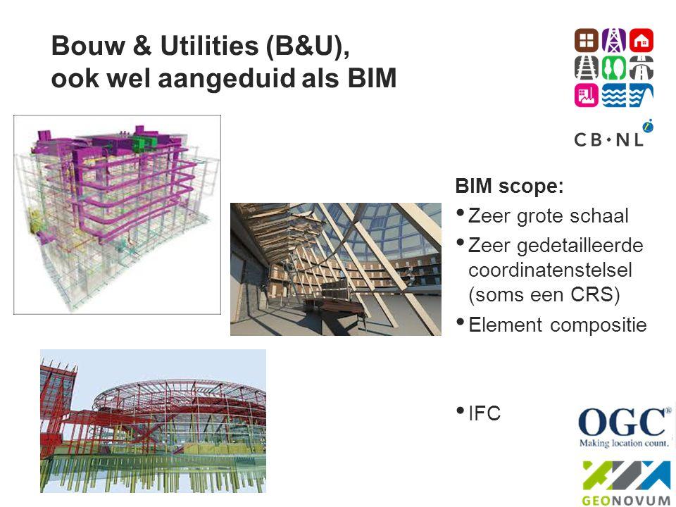 Bouw & Utilities (B&U), ook wel aangeduid als BIM