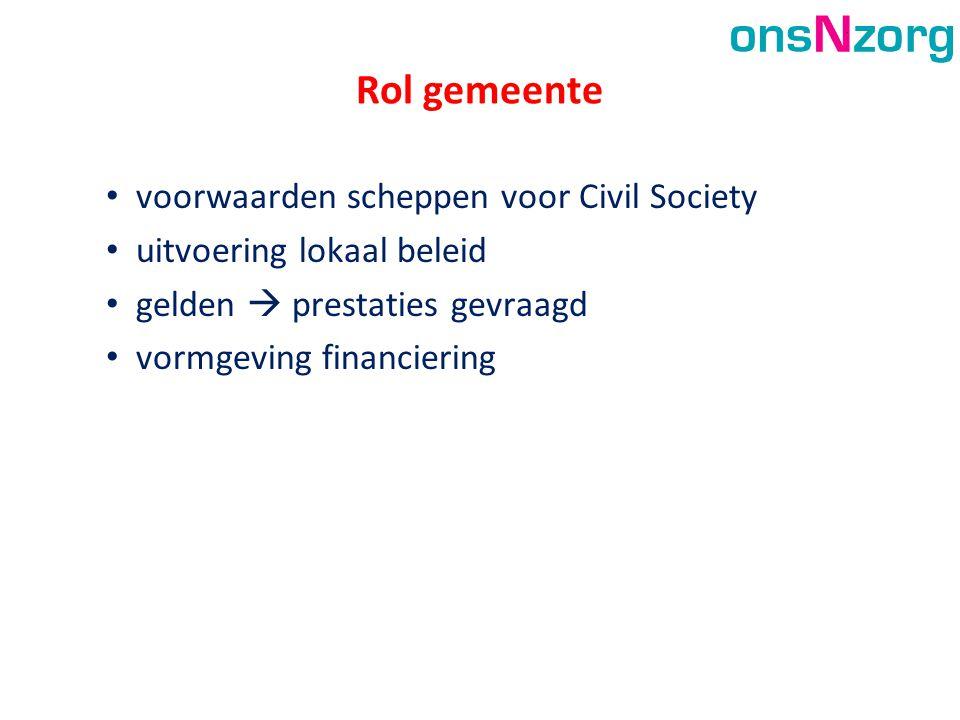 Rol gemeente voorwaarden scheppen voor Civil Society