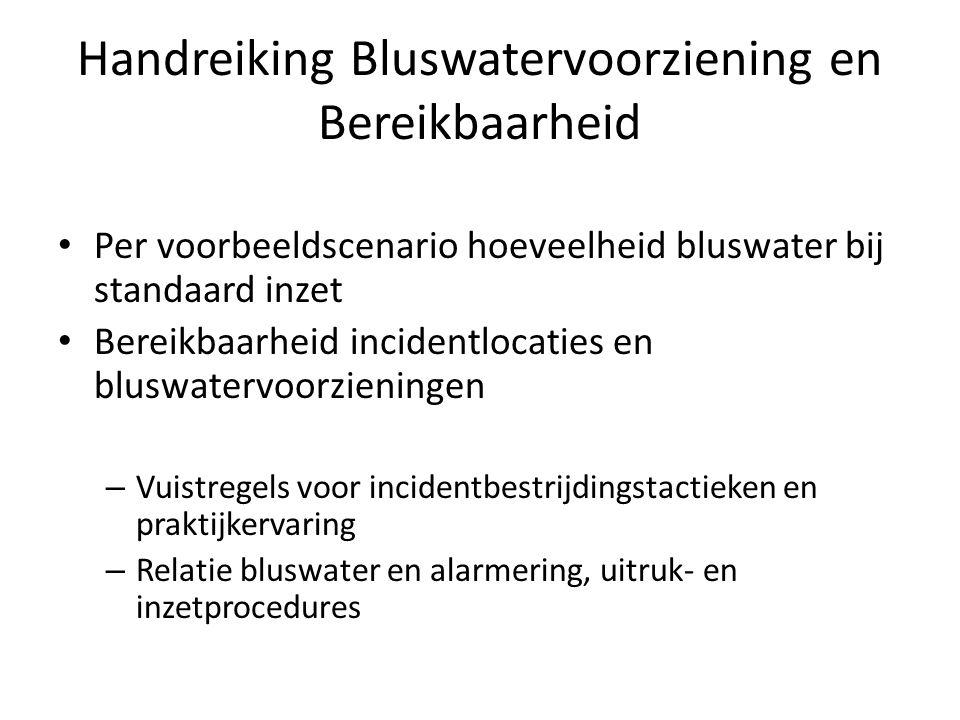 Handreiking Bluswatervoorziening en Bereikbaarheid