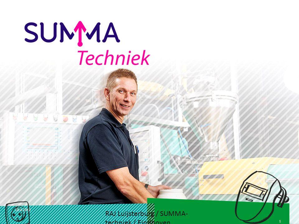 RAJ Luijsterburg / SUMMA-techniek / Eindhoven