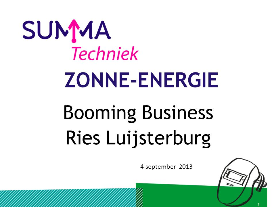 Booming Business Ries Luijsterburg