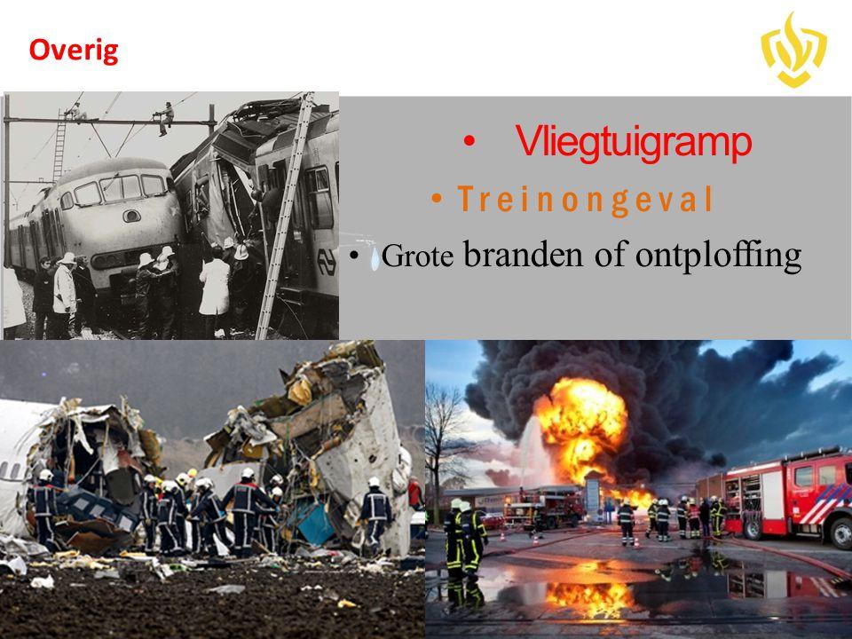 Grote branden of ontploffing