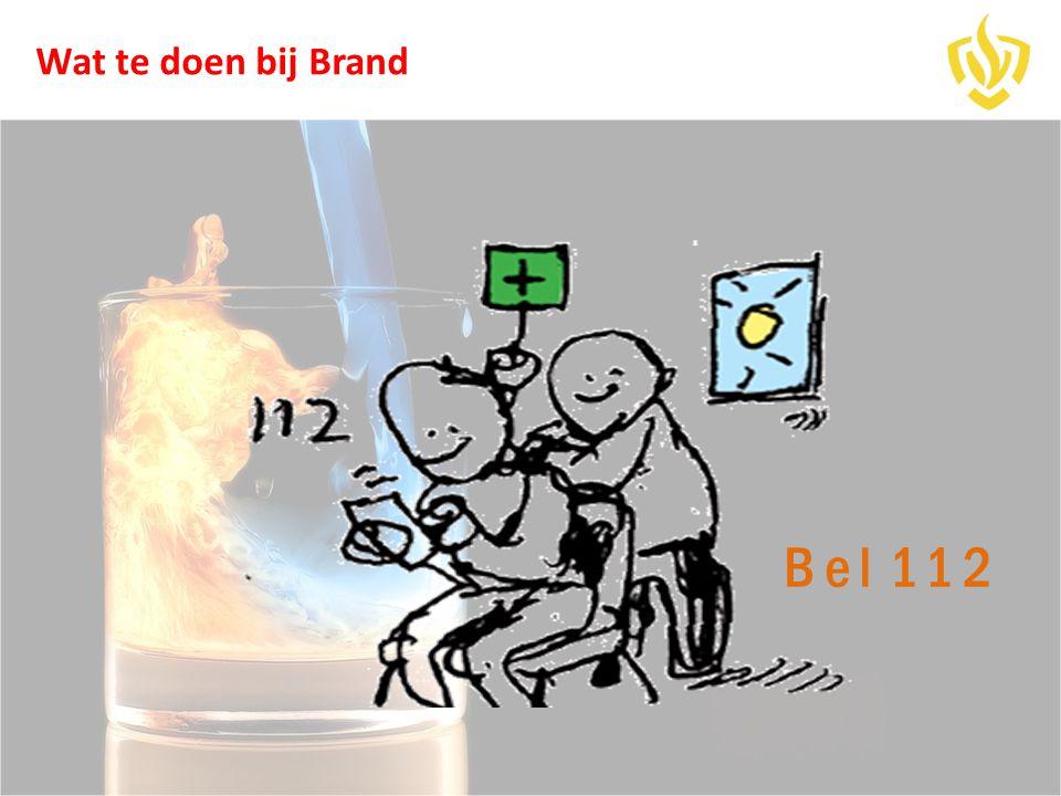 Wat te doen bij Brand Bel 112
