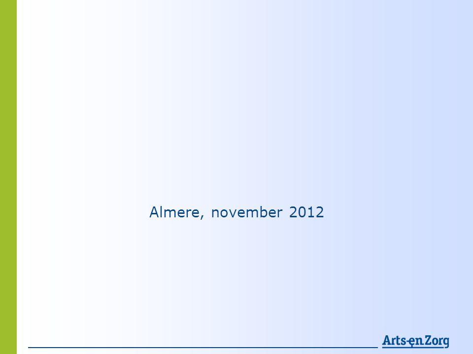 Almere, november 2012