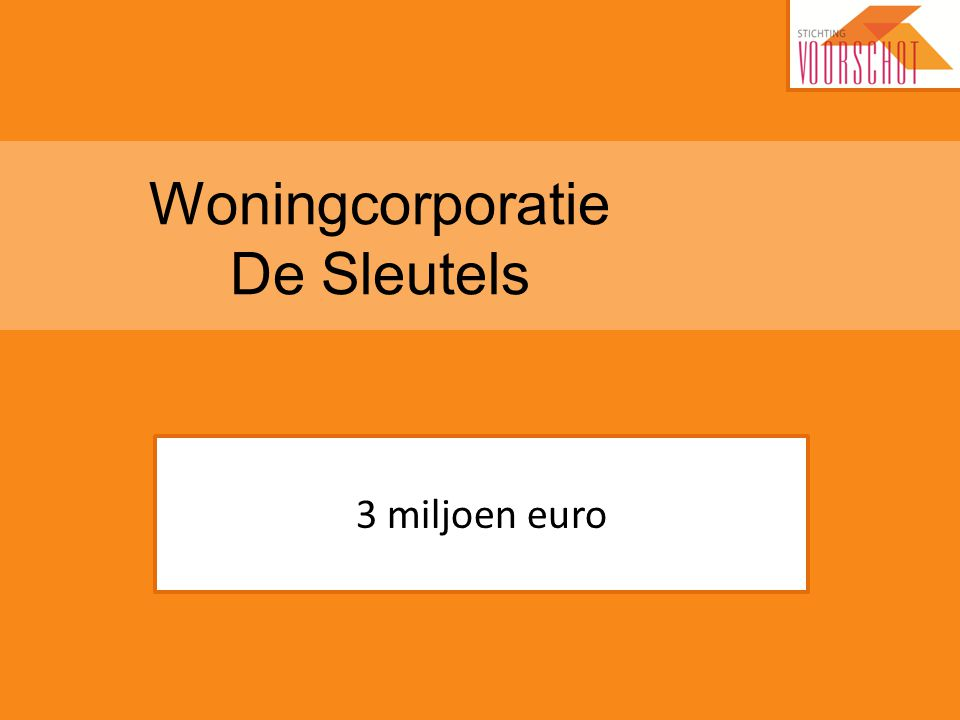 Woningcorporatie De Sleutels