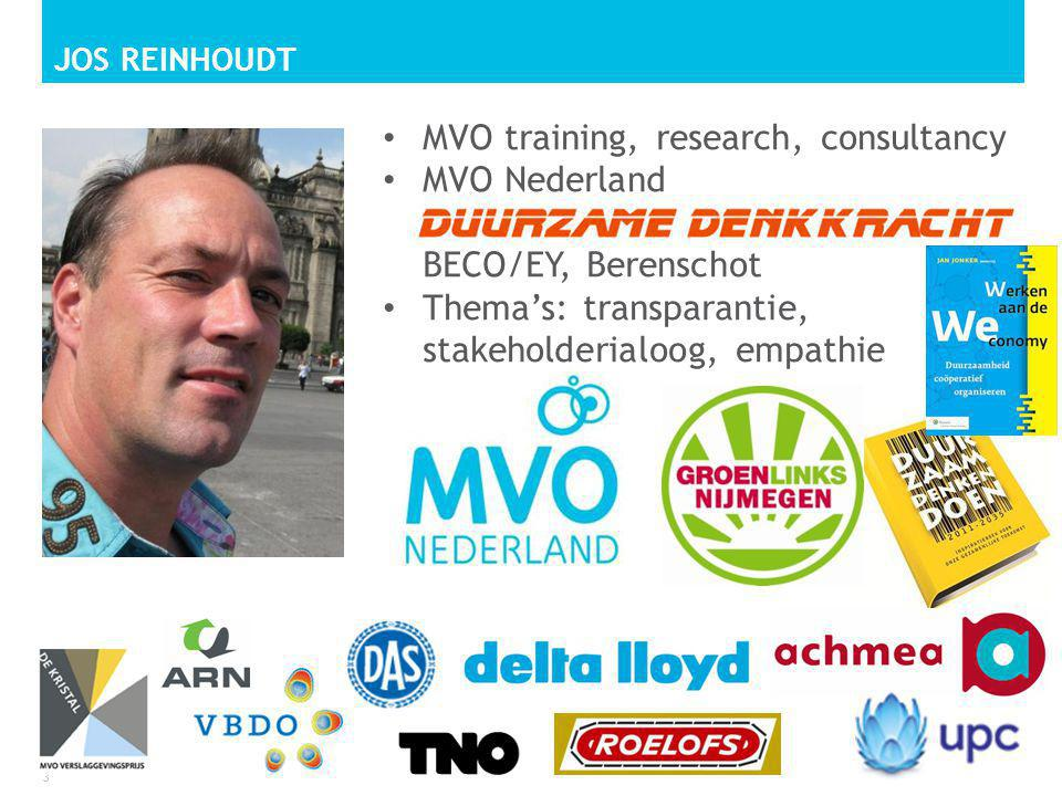 MVO training, research, consultancy