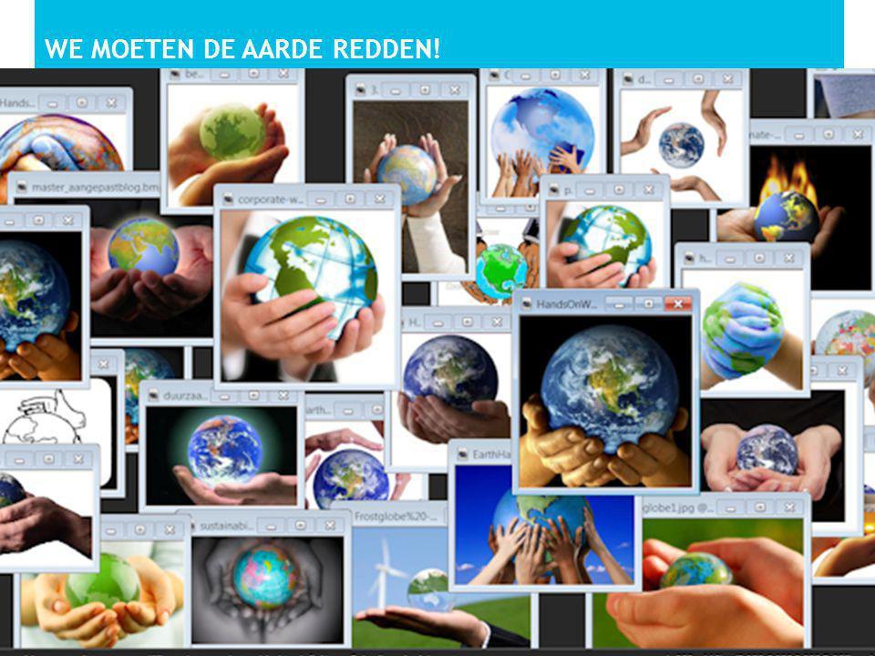 We moeten de aarde redden!