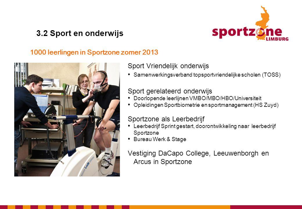 1000 leerlingen in Sportzone zomer 2013