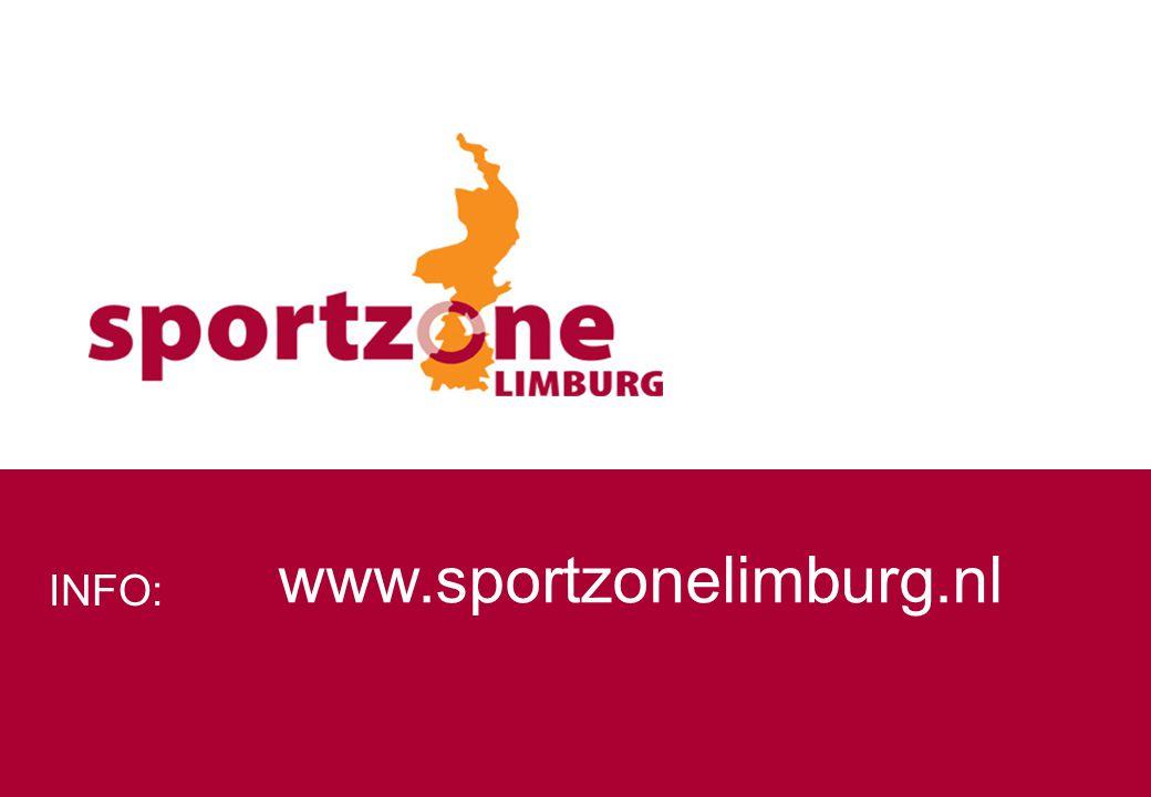 INFO: www.sportzonelimburg.nl