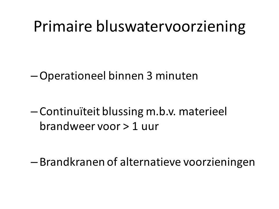 Primaire bluswatervoorziening