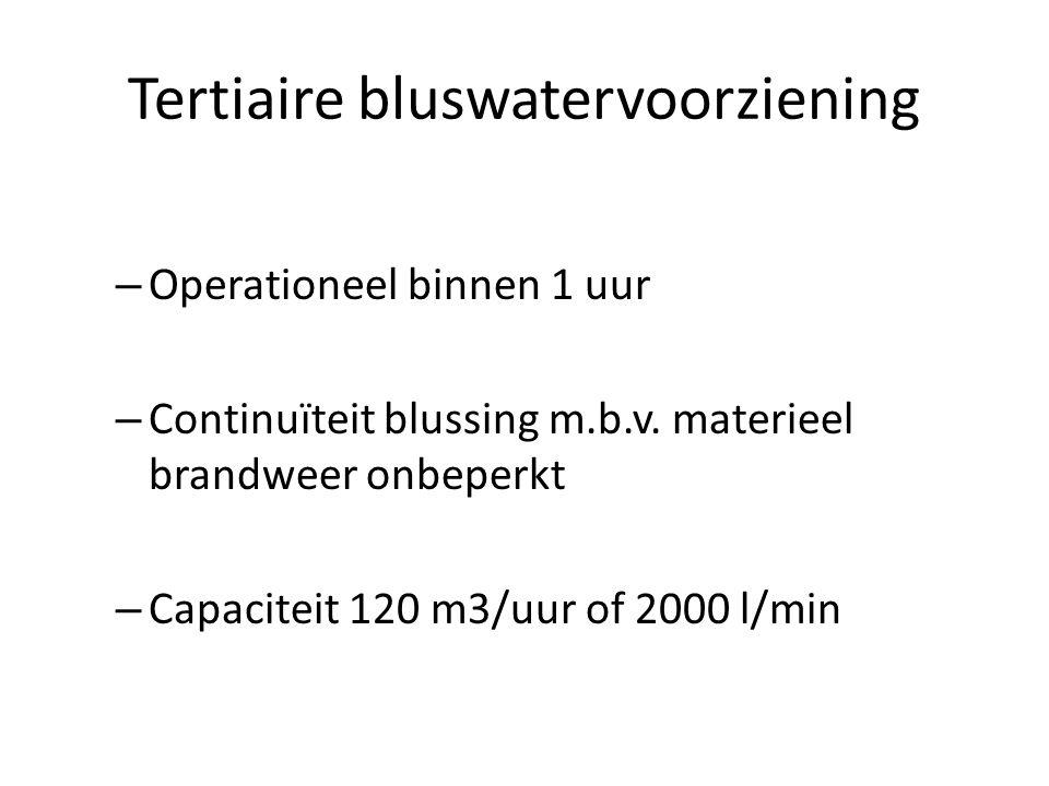 Tertiaire bluswatervoorziening