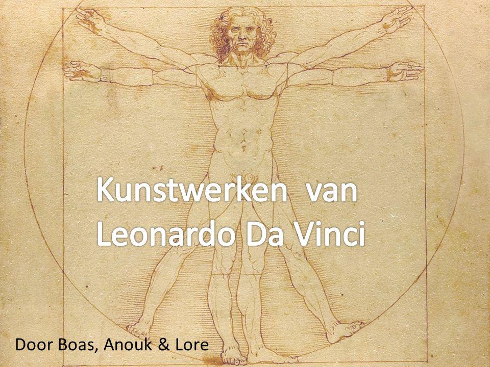 Kunstwerken van Leonardo Da Vinci