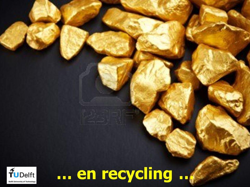 … en recycling …