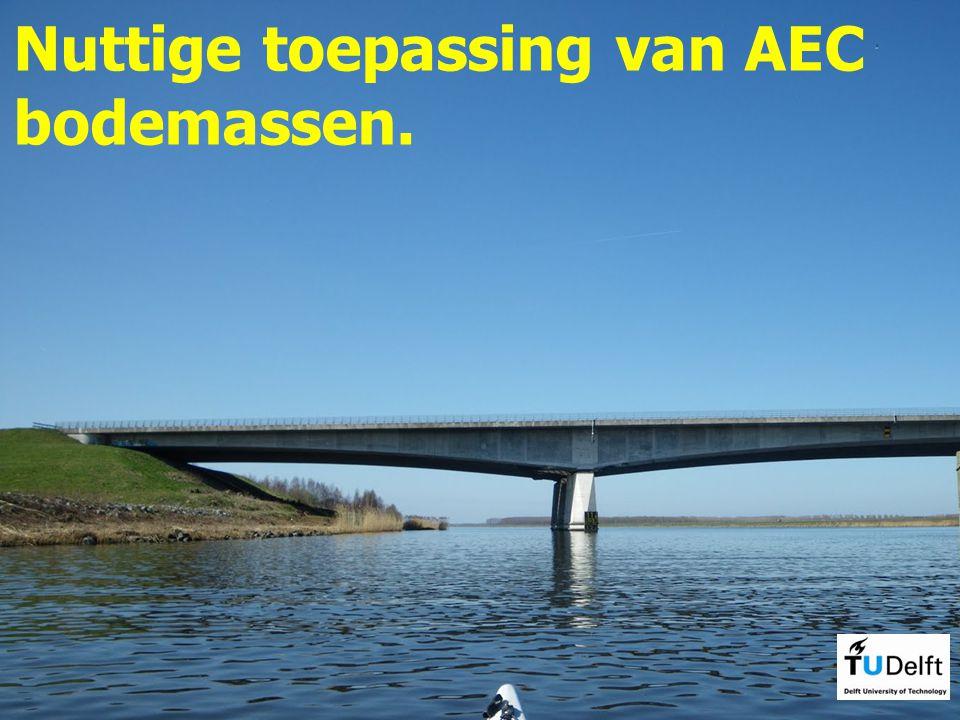 Nuttige toepassing van AEC bodemassen.
