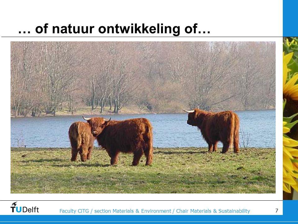 … of natuur ontwikkeling of…