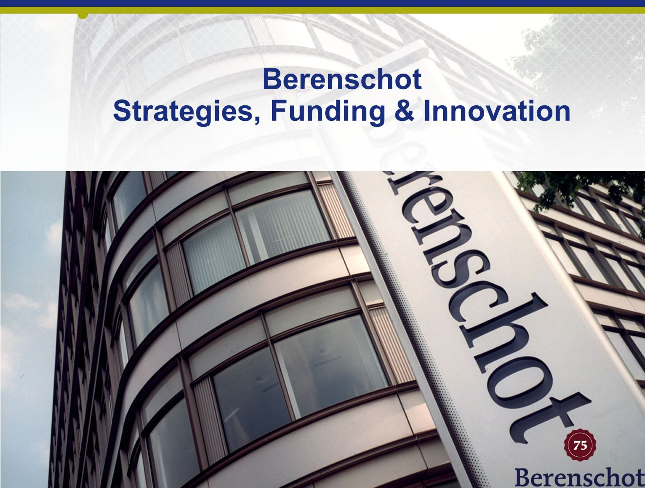 Berenschot Strategies, Funding & Innovation