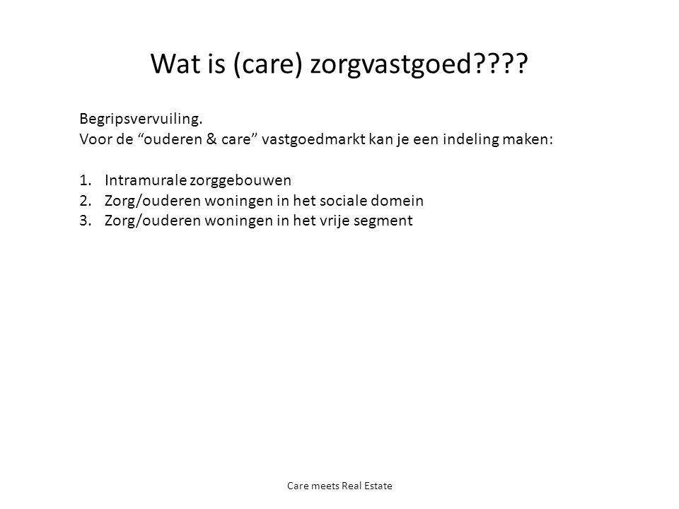 Wat is (care) zorgvastgoed