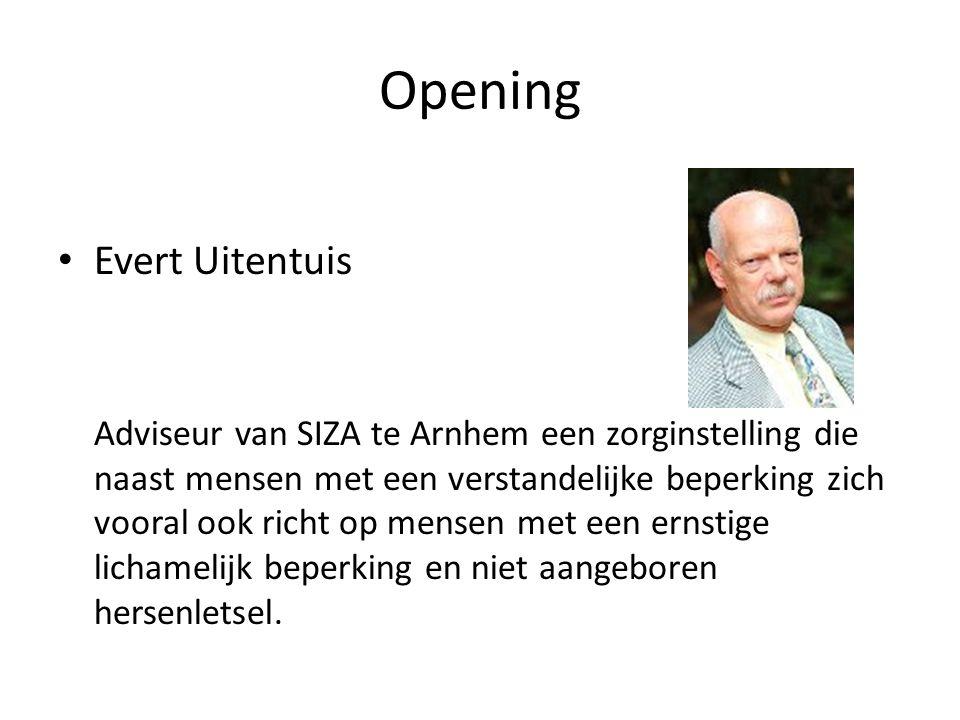 Opening Evert Uitentuis