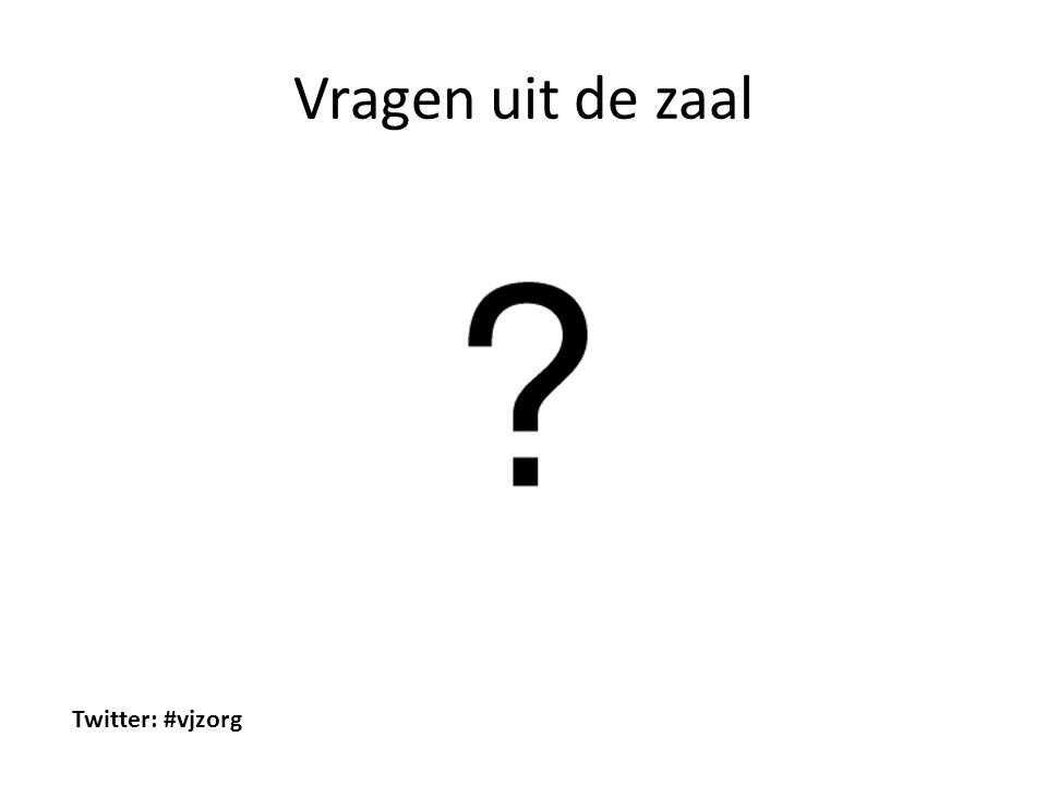 Vragen uit de zaal Twitter: #vjzorg