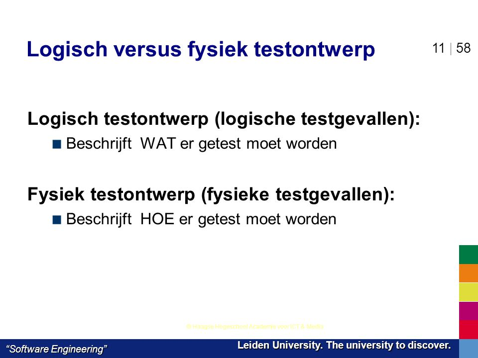 Logisch versus fysiek testontwerp